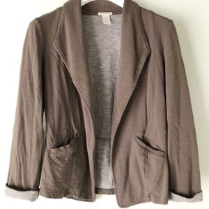 Matty M Soft Slouchy Asymmetrical Blazer